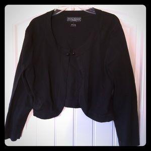 Jessica Howard Jackets & Blazers - NWT black formal shoulder coat