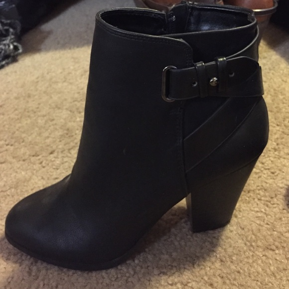 a8e137a36fb4 Charlotte Russe Shoes - Charlotte Russe black booties