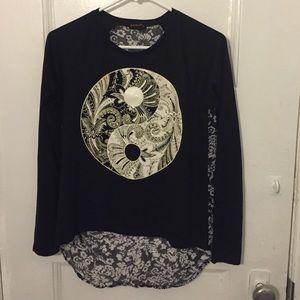 Hybrid Tops - Long sleeved Yin Yang top