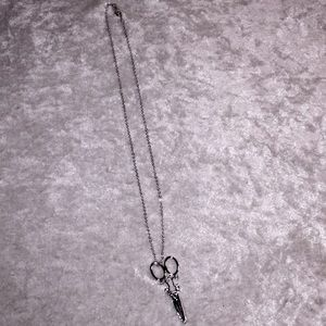 Scissor Necklace 