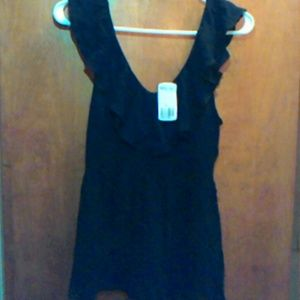 NW FOREVER 21 RUFFLE BLOUSE SIZE SMALL