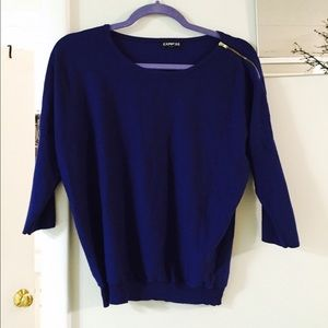 Express Navy blue sweater