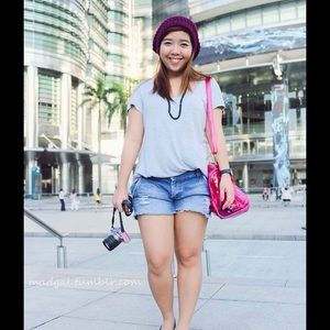 Accessories - Plum colored beanie