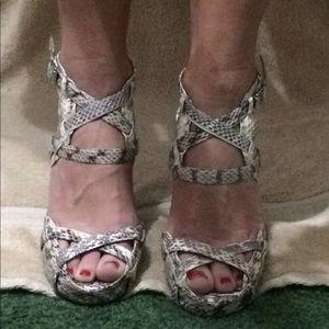 Calvin Klein platform sandals