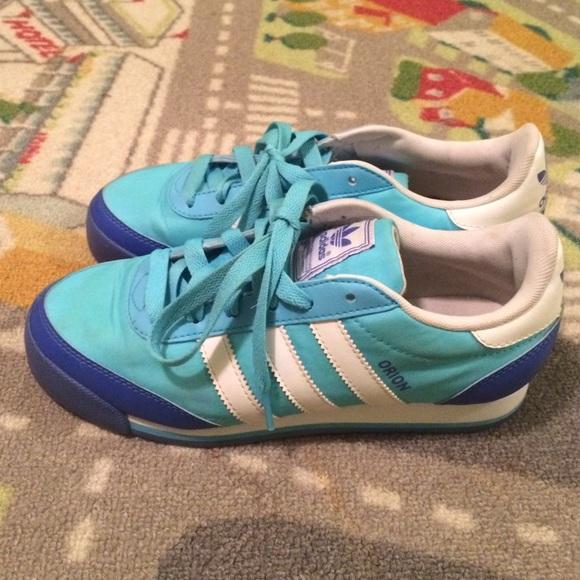 Adidas zapatos azul blanco Orion zapatilla  mujer 6 poshmark