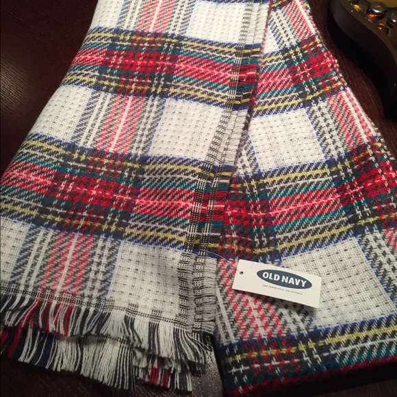 Old Navy Other Patterned Blanket Scarf Poshmark Impressive Patterned Blanket