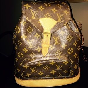 Authentic Louis Vuitton Backpack.