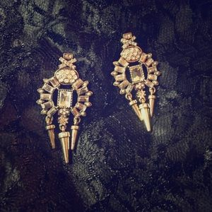 Fun and bold statement earrings!