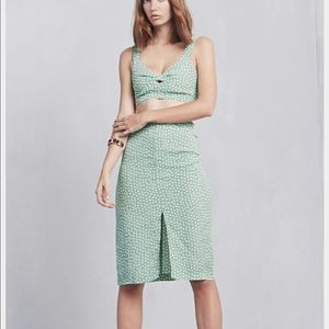 Reformation Dresses & Skirts - Clinton two piece in green print reformation