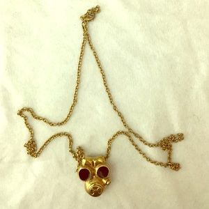  Holiday Sale! Long necklace gas mask pendant for sale