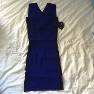 Alexander McQueen Knit bandage dress size small
