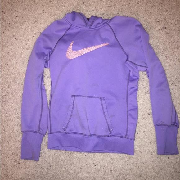 nike tops purple sweatshirt poshmark