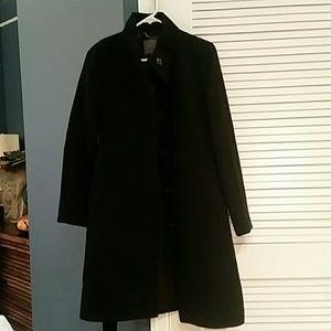 JCREW wool knee length coat