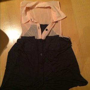 flowy sleeveless Urban blouse