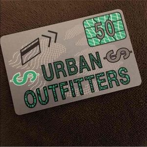 $40 for $50 Urban outfitters gift card