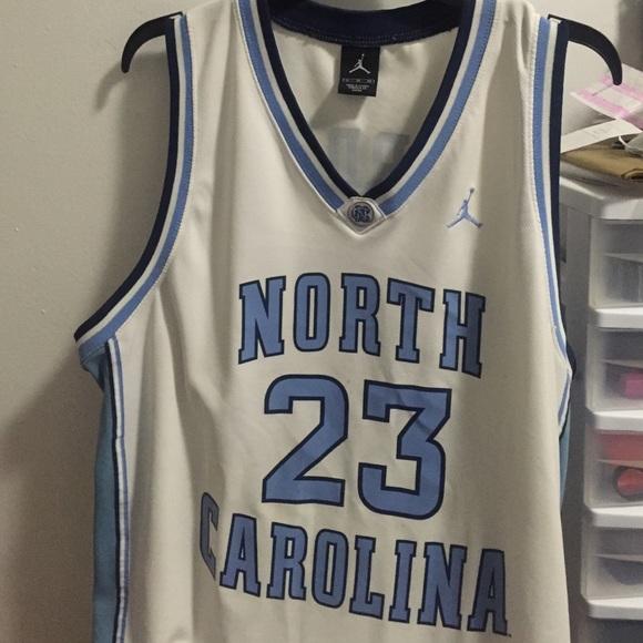 best website 7e5c9 4f29b Michael Jordan North Carolina jersey