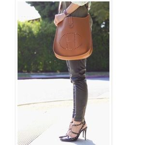 hermes replica handbags - 96% off Hermes Handbags - Hermes Evelyne gm bag from Giselle's ...