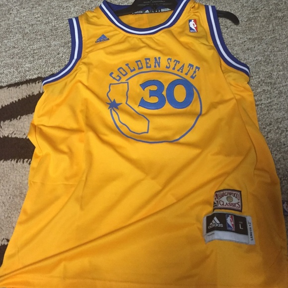 quality design 73504 fe36b Golden State Stephen Curry Hardwood Classic Jersey