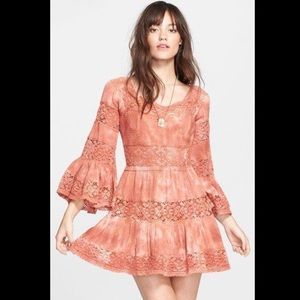 Free People Dresses & Skirts - 🍉BOGO TODAY!🍉Free People crochet inset dress