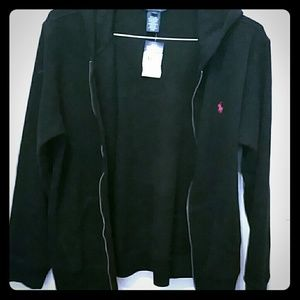 POLO Ralph Lauren navy blue hoodie new tags!