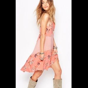 Free People Dresses & Skirts - 🍉BOGO TODAY!🍉Free People floral slip dress