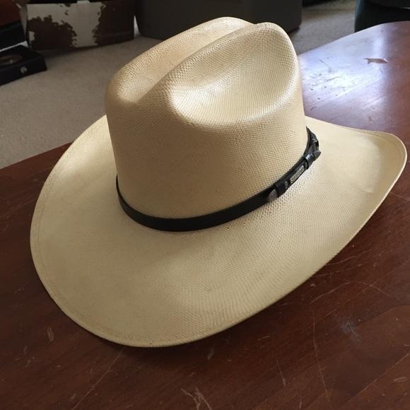 Fresno Stetson Cowboy Hat. M 568aac7c981829d621002c73 134c3b07346f