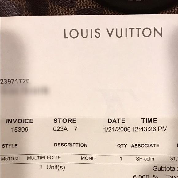 Louis Vuitton Receipts Excel  Off Louis Vuitton Handbags  Louis Vuitton Lv Multiplicite  Create Receipt App Word with Wilkinsons Returns Policy No Receipt Louis Vuitton Bags  Louis Vuitton Lv Multiplicite Bag W Receipt Payment Receipt Sample Excel