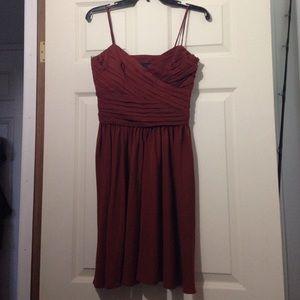 Zara rust dress size S
