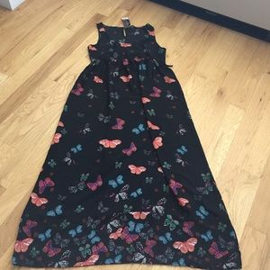 Dorothy Perkins Dresses & Skirts - Dorothy Perkins Maxi Tie back butterfly dress