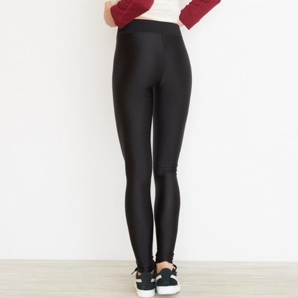 1d71d2f69a491b Garage Pants | High Waist Shiny Legging | Poshmark