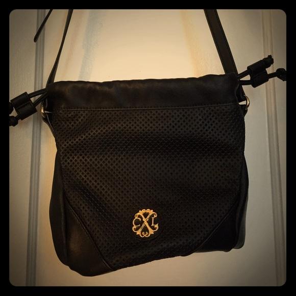 7c77a603a Christian Lacroix Bags | Black Cross Body Bucket Bag | Poshmark
