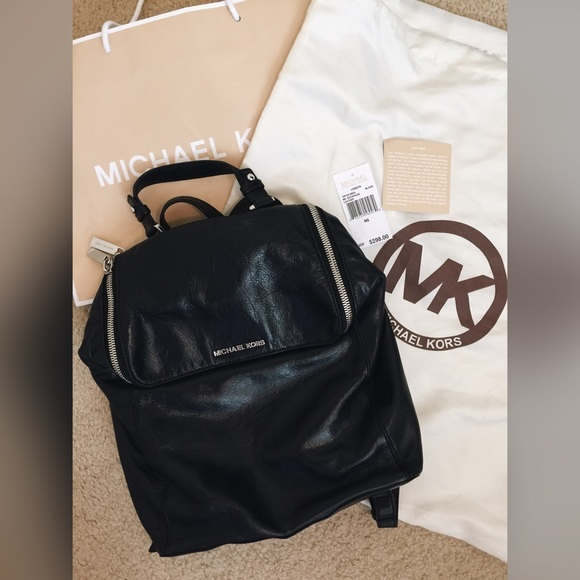 133e9086080e Michael Kors Lisbeth Leather Backpack. M_568adfbf981829d8a7006216