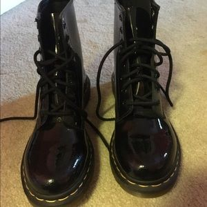 81 dr martens shoes dr martens triumph 1460 8 eye boot brown from kadija s