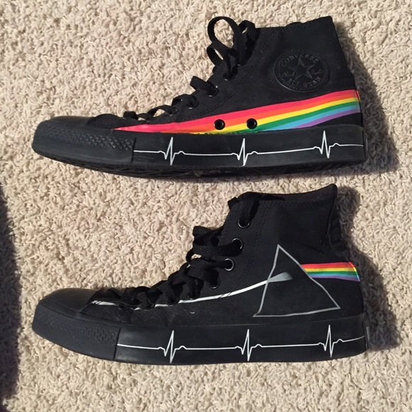 Converse x Pink Floyd Dark Side Hi | Pink floyd dark side