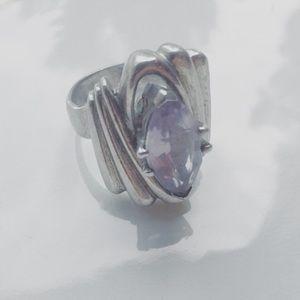 Jewelry - .925 AMETHYST ring !