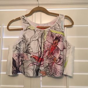 Clover canyon crop top