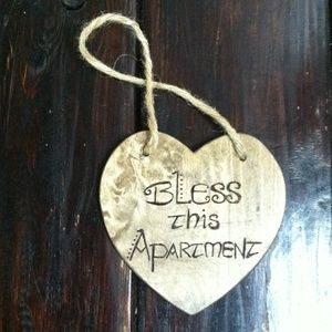 Apartment Accesory, sign