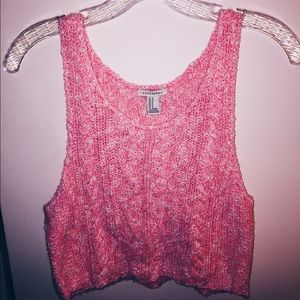 Forever 21 Sweater Crop Tank