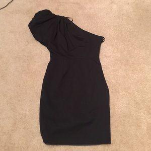 ASOS Dresses & Skirts - Puff Sleeve One Shoulder Dress