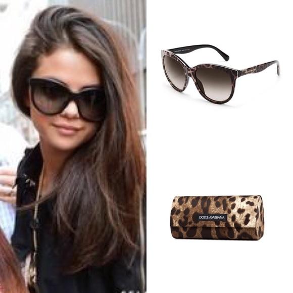 1c4539876af8 Dolce   Gabbana Accessories - Dolce   Gabbana Oversized Leopard Sunglasses