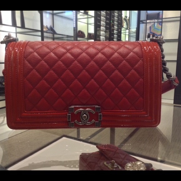bec412f1a995 CHANEL Bags | Iso Red Boy | Poshmark