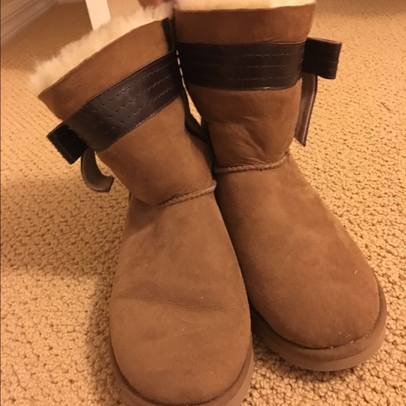 UGG Shoes   Ugg Boots With Bow On Side