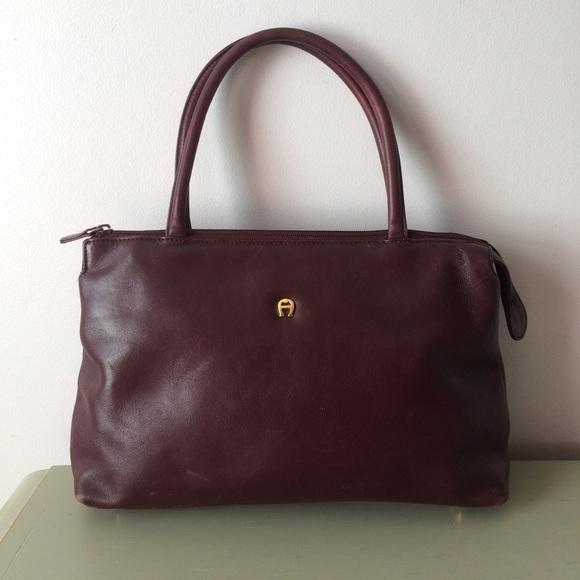 Etienne Aigner Handbags - Vintage Etienne Aigner - Shoulder Bag 840614078fdac