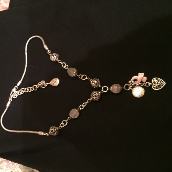 Brighton breast cancer necklace