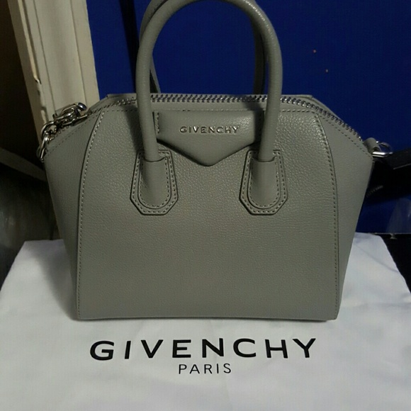GIVENCHY Pearl grey MINI BAG 538726e22b56e