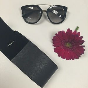 Prada Accessories - Black Prada SPR 13Q Sunglasses