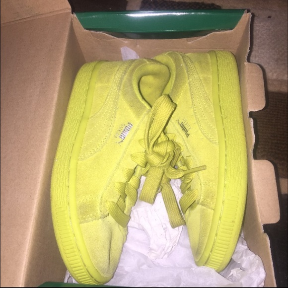 lime green pumas on sale   OFF71% Discounts 76109bb3c