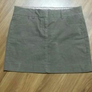 J . Crew mini skirt