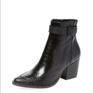 Freda Salvador black leather boots