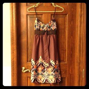 Satiny Strappy Dress